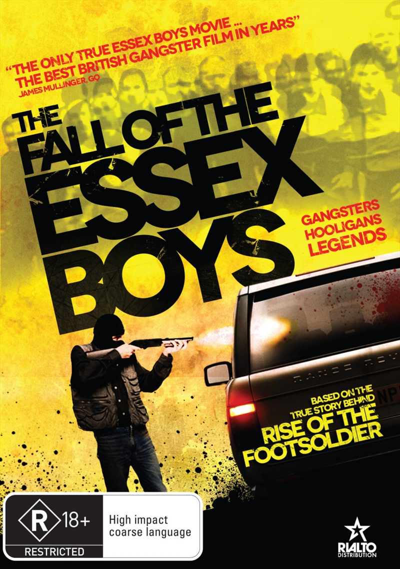 The Fall Of The Essex Boys | DVD