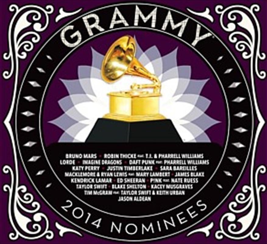 2014 Grammy Nominees Various Cd Sanity