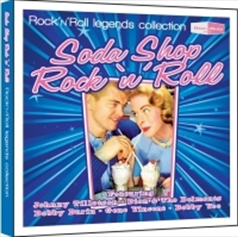soda shop rock n roll various cd sanity. Black Bedroom Furniture Sets. Home Design Ideas