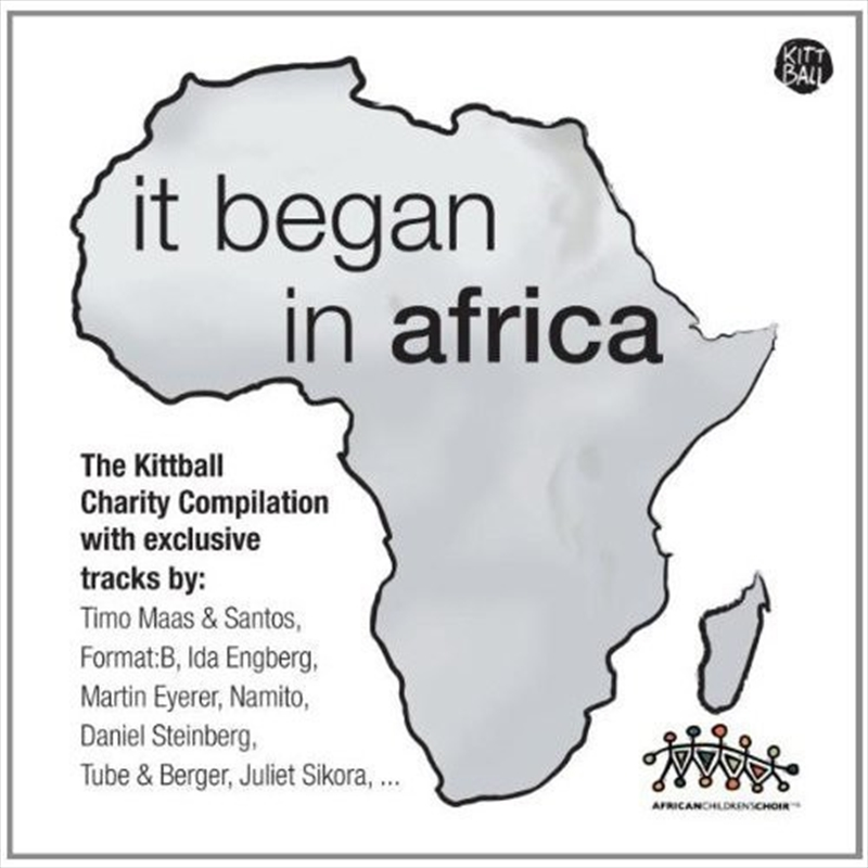 It Began In Africa (Import) | CD