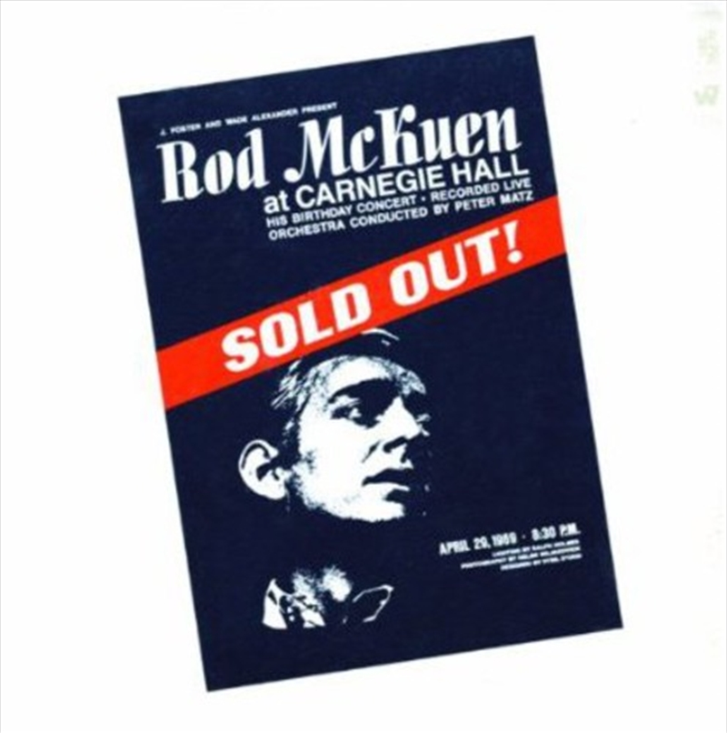 Sold Out At Carnegie Hall | CD