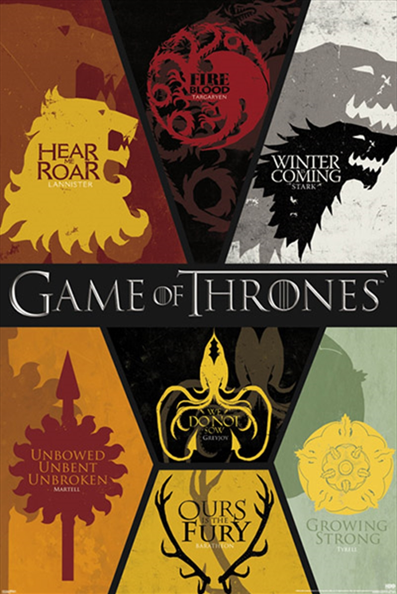 Game Of Thrones Sigils | Merchandise