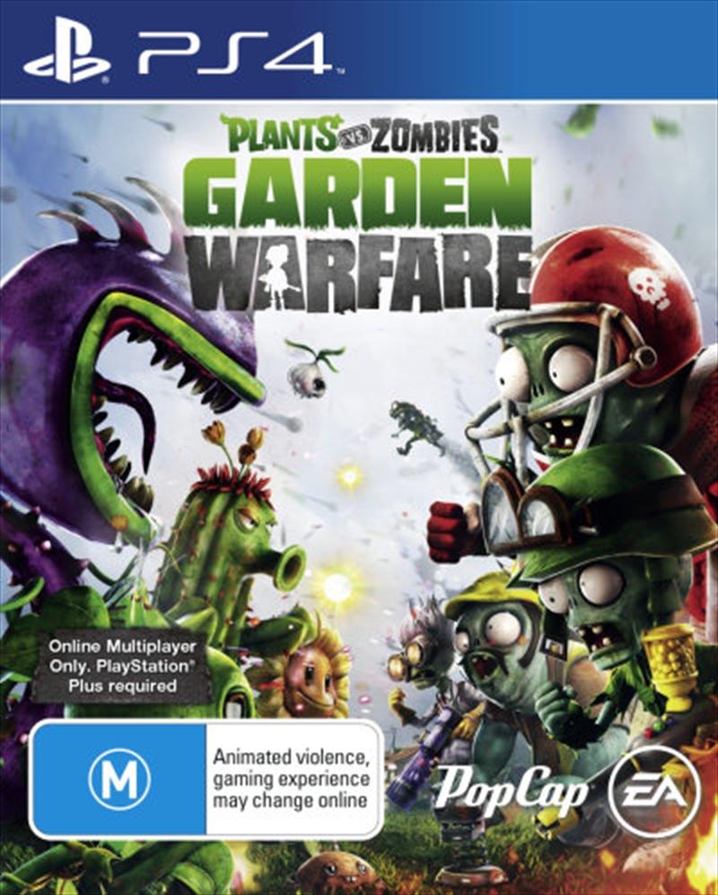 Plants Vs Zombies Garden Warfare Strategy Playstation 4 Sanity
