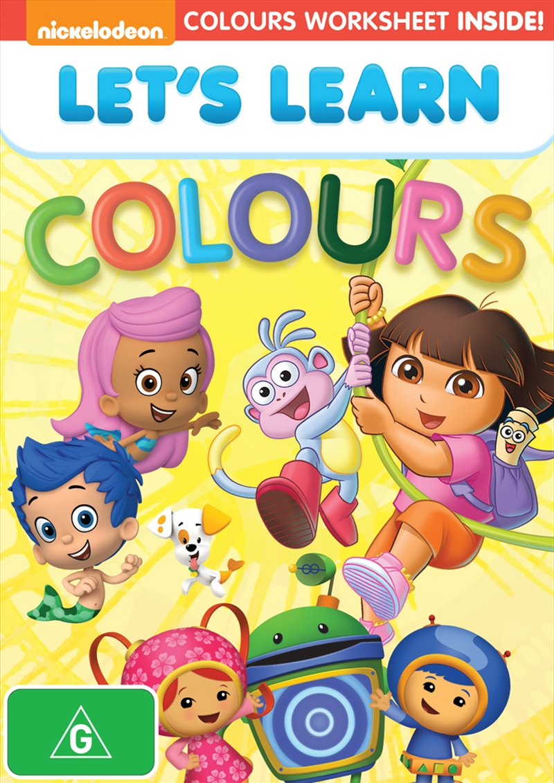 Let's Learn Colours | DVD
