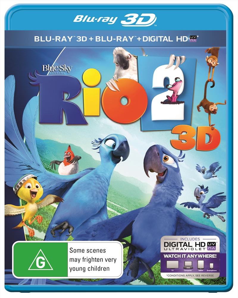 Rio 2 3D | Blu-ray 3D