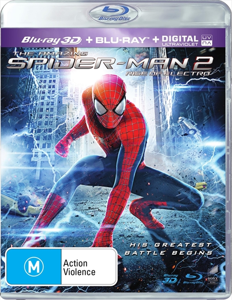 Amazing Spider-Man 2 - Rise Of Electro | Blu-ray 3D