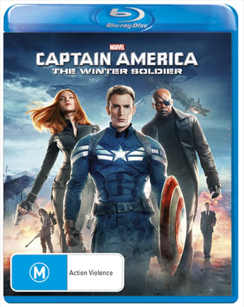 Captain America: The Winter Soldier | Blu-ray