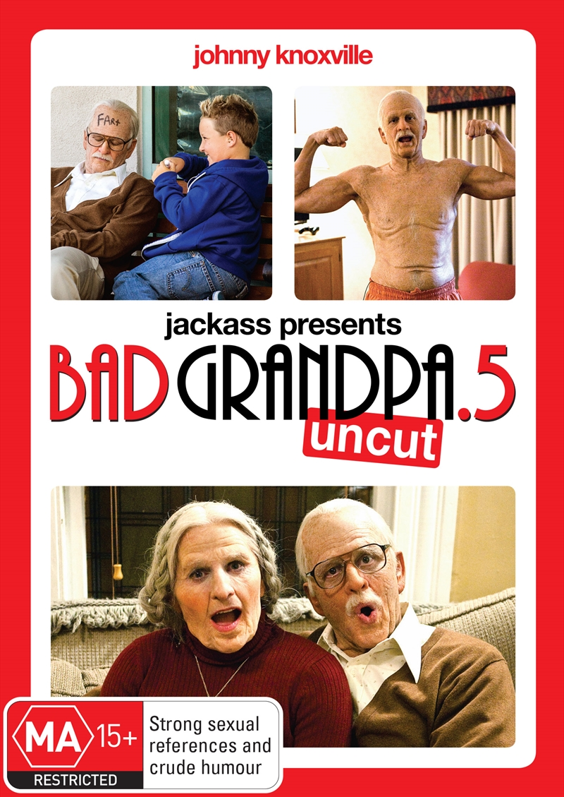 Jackass Presents Bad Grandpa .5 | DVD