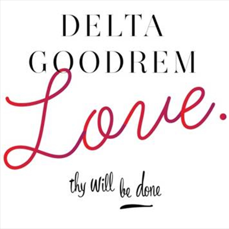 Love Thy Will Be Done (BONUS KEYRING) | CD Singles