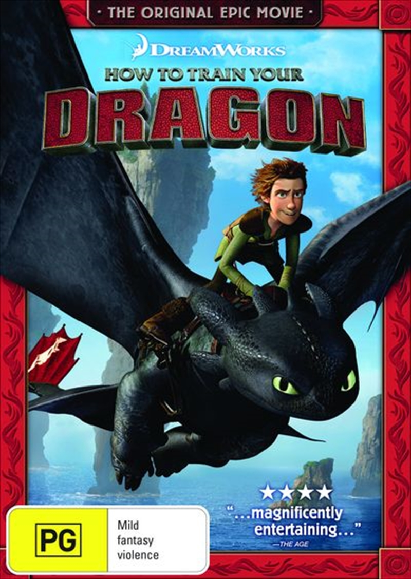 how to train your dragon dvd series