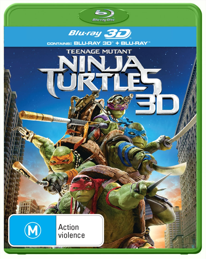 Teenage Mutant Ninja Turtles 3D | Blu-ray 3D
