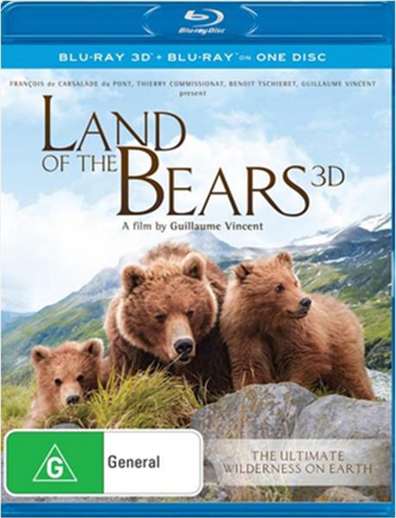 Land Of The Bears | Blu-ray 3D