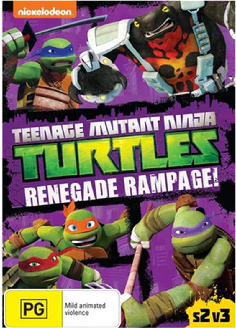 Teenage Mutant Ninja: Renegade Rampage | DVD