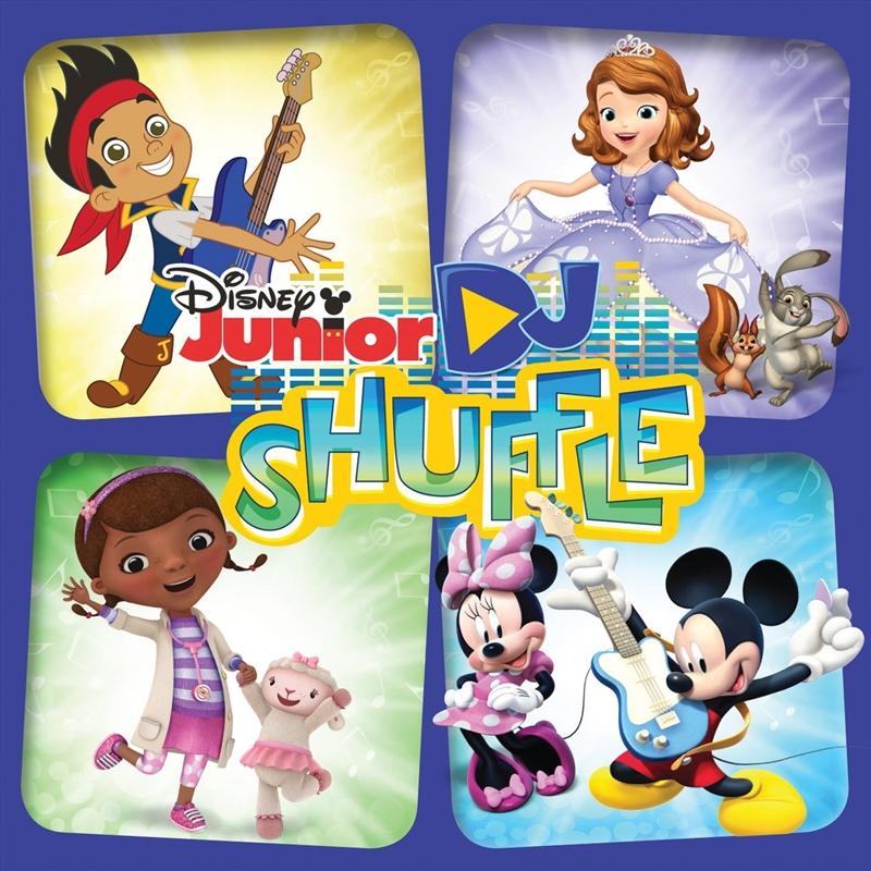 Disney Junior DJ Shuffle   CD