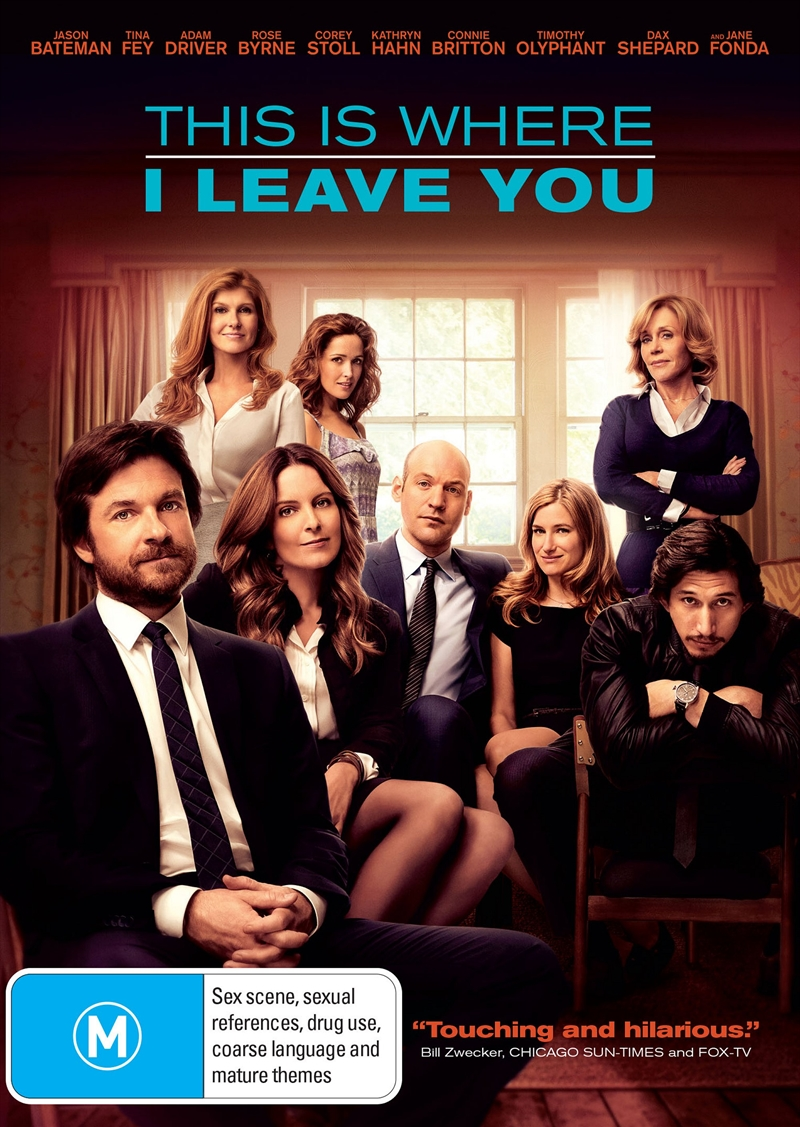 This Is Where I Leave You | DVD