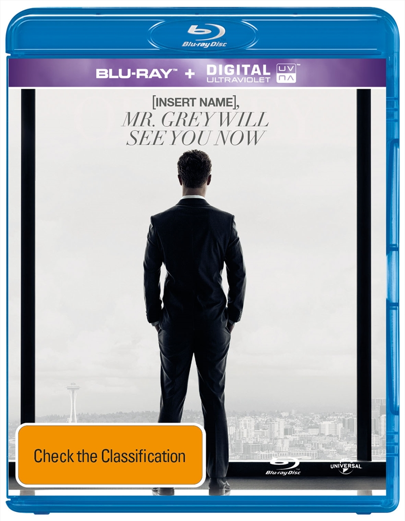 Fifty Shades Of Grey: Unseen Edition (PERSONALISED COVER) | Blu-ray