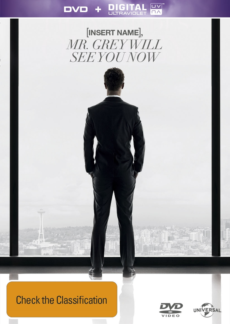 Fifty Shades Of Grey: Unseen Edition (PERSONALISED COVER) | DVD