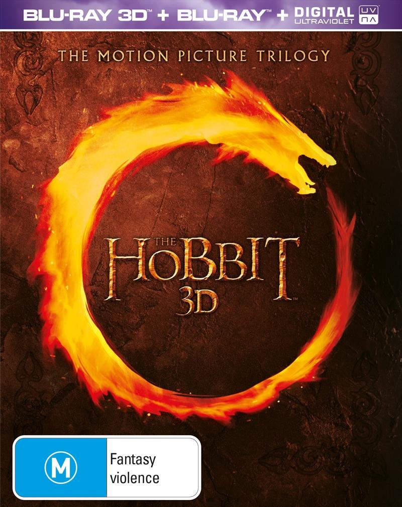 Hobbit Trilogy + Journal | Blu-ray 3D