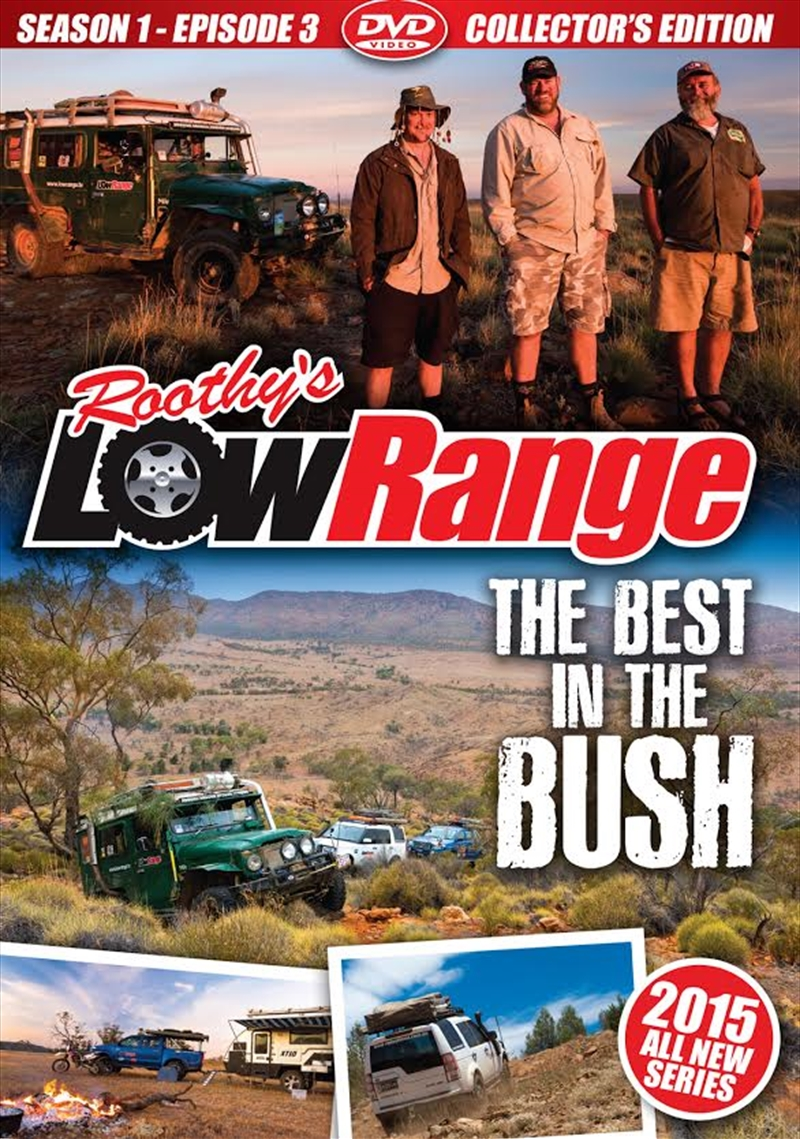 Lowrange: S1 E3: Best In The Bush | DVD