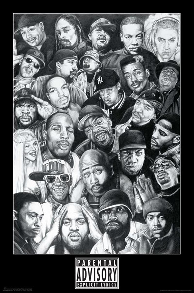 Rap Gods Poster | Merchandise