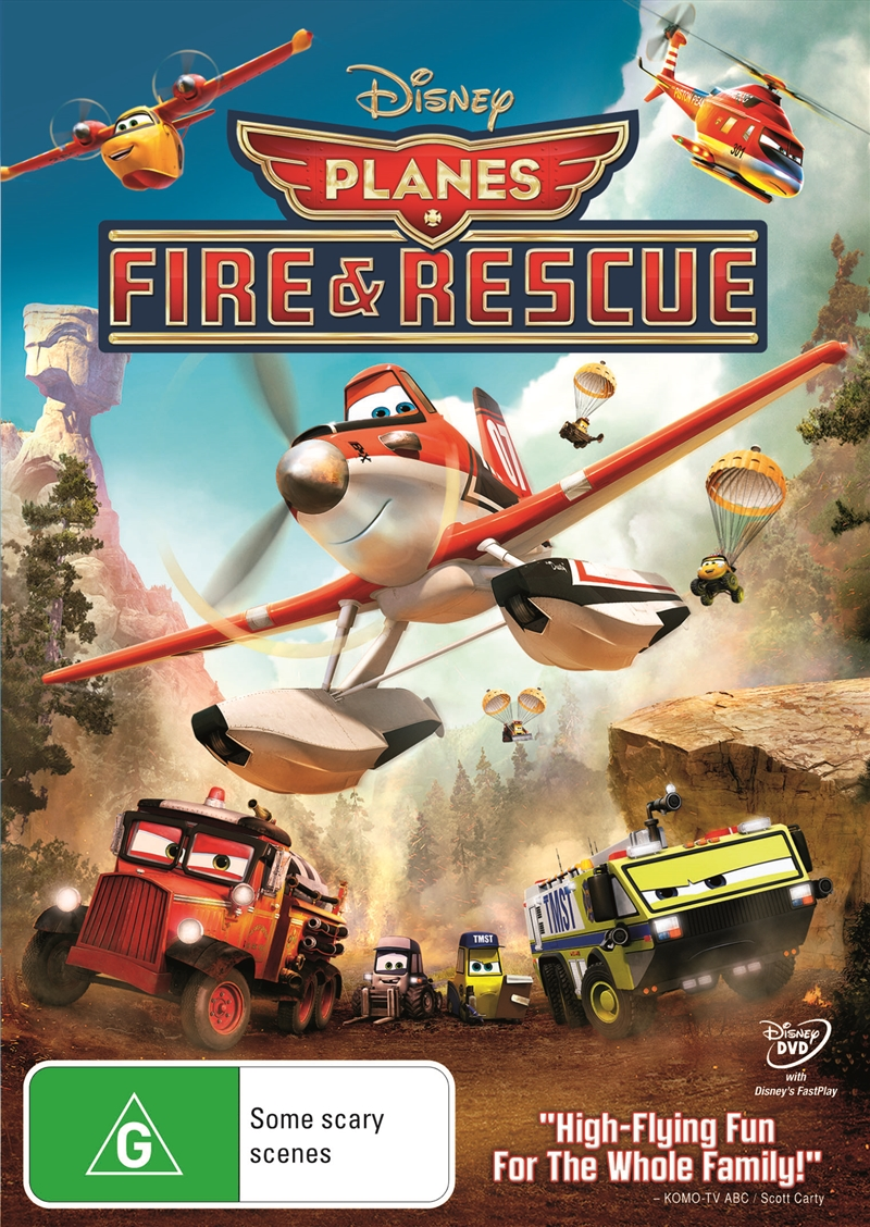 Planes: Fire And Rescue | DVD