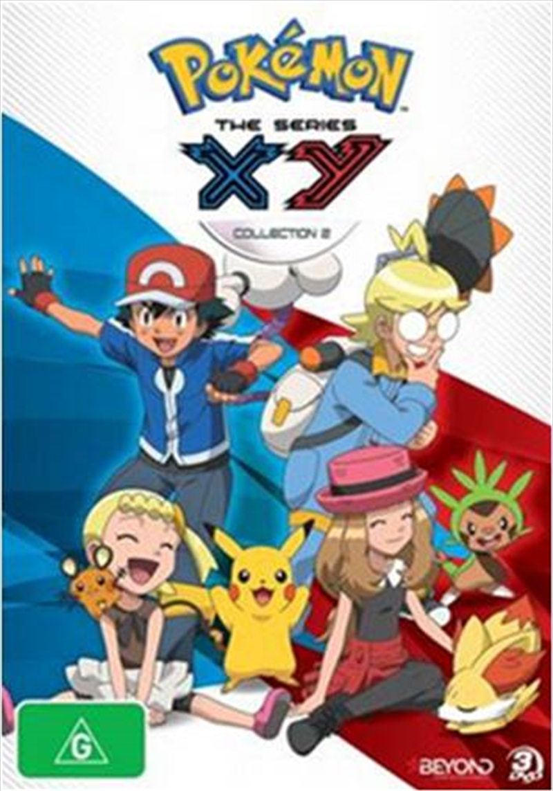 Pokemon; Series X-Y Collection 2 | DVD