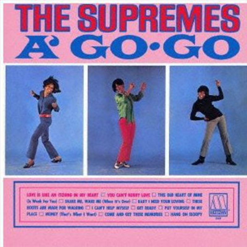 Supremes A Go Go | CD