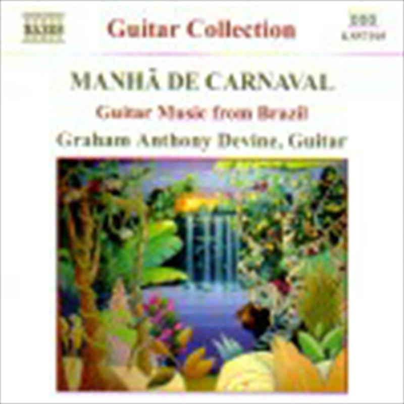 Manha De Carnaval Guitar Music | CD