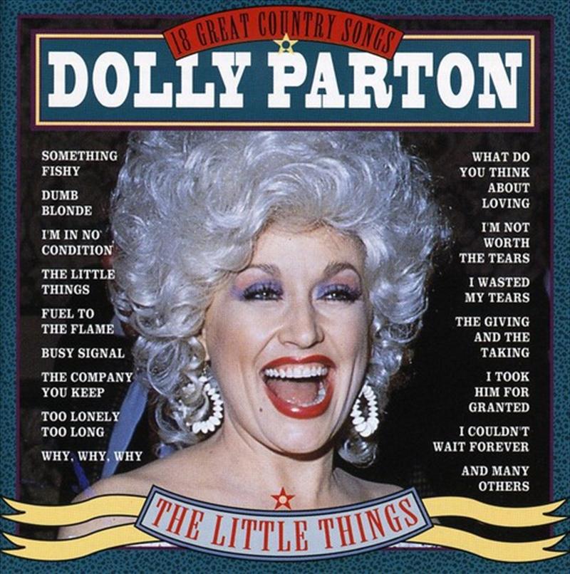 Little Things: 18 Great Songs | CD
