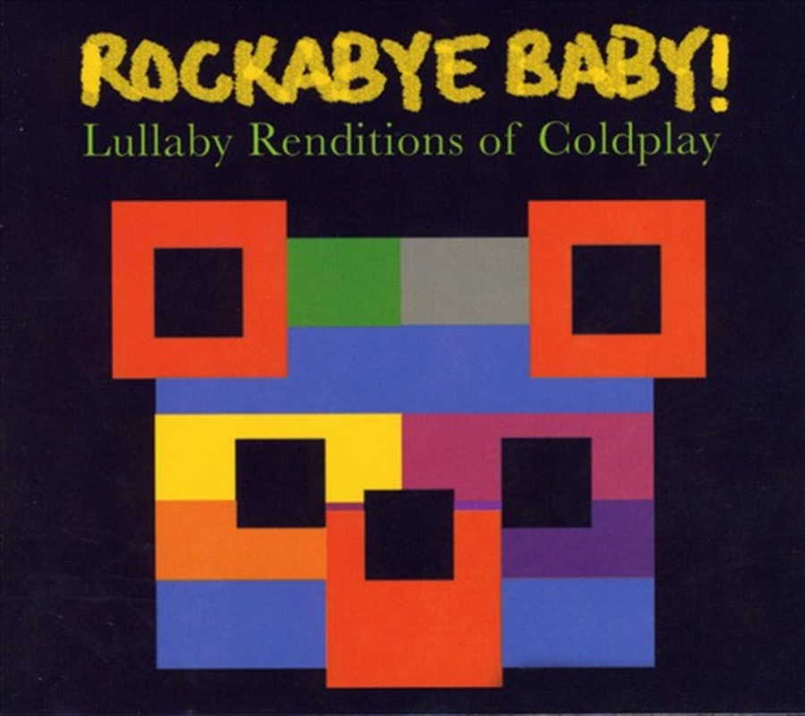 Coldplay Lullaby Renditions   CD