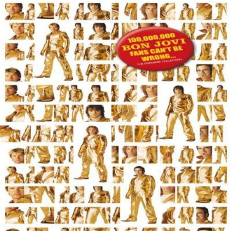 100 Million Bon Jovi Fans Can't Be Wrong | CD/DVD
