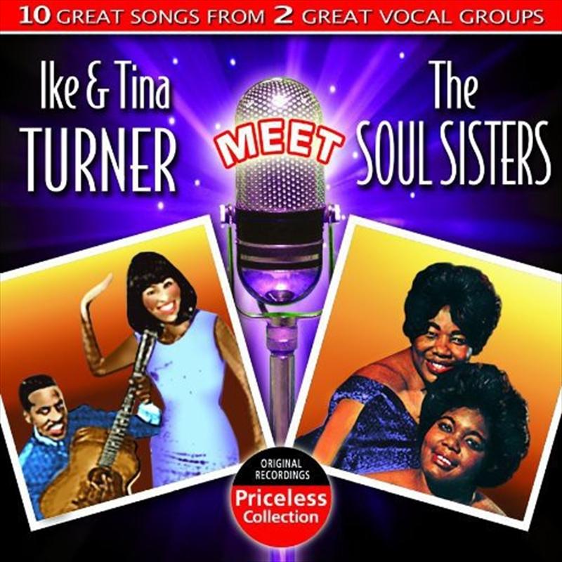 Ike And Tina Turner Meet Soul Sisters   CD