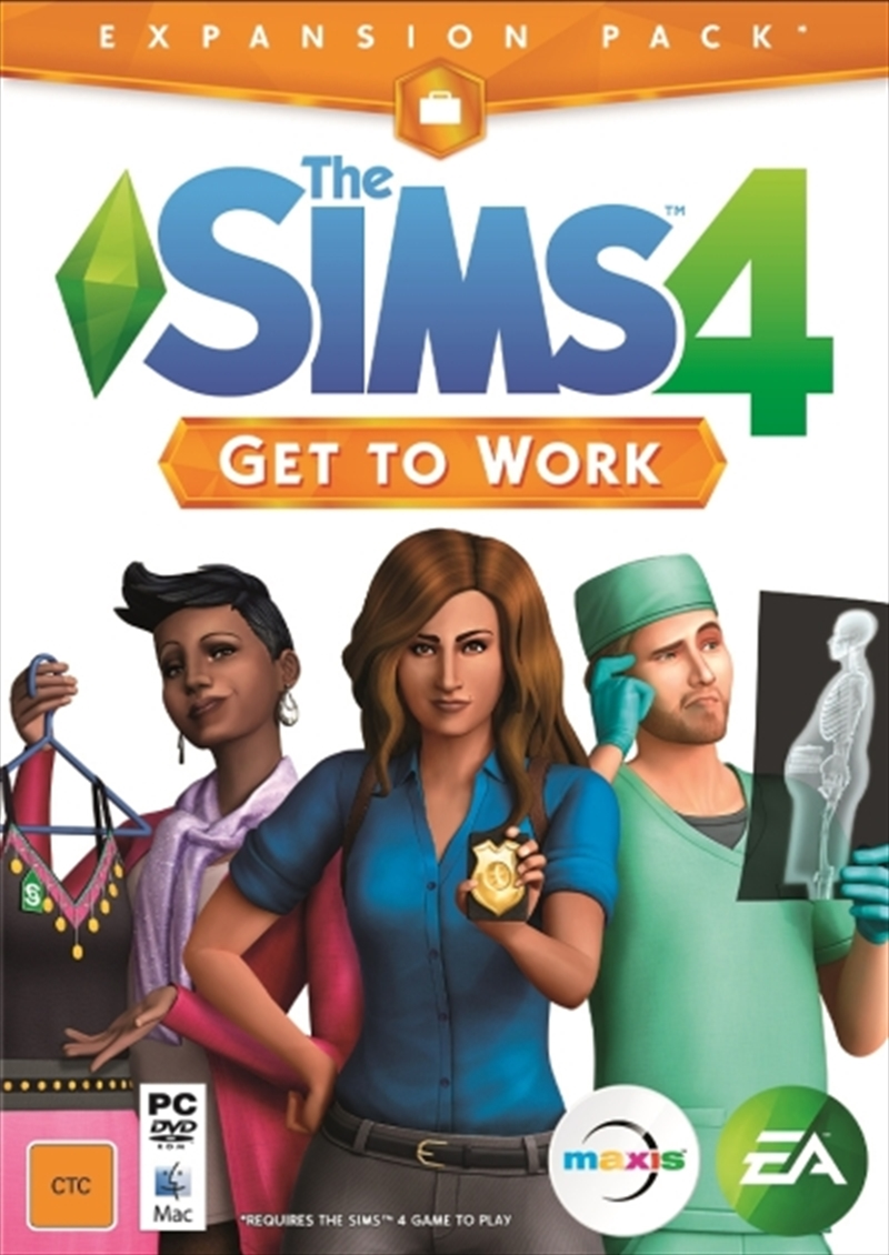 Sims 4 Get to Work | PC