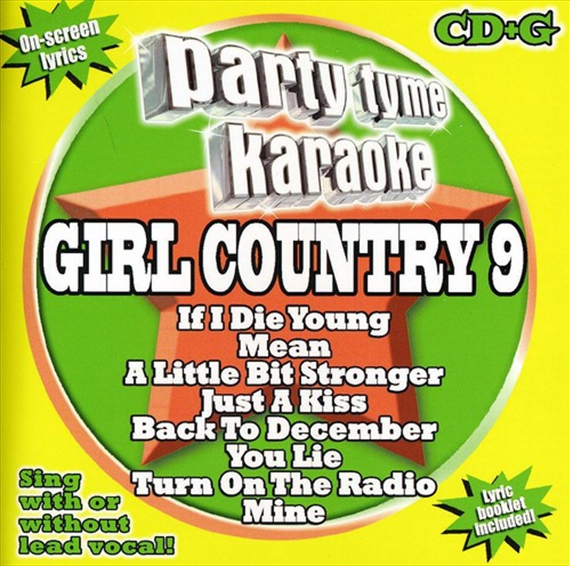Girl Country: Vol 9 | CD