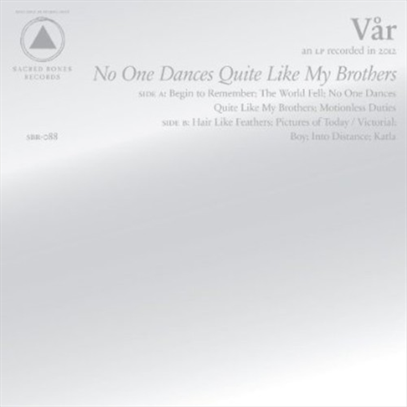 No One Dances Quite Like My Brothers | CD
