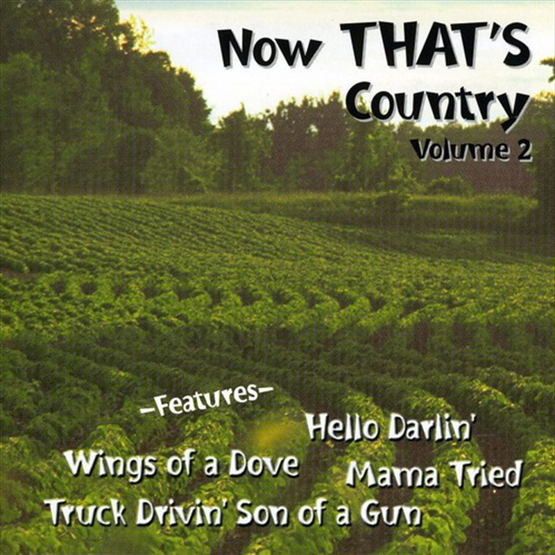 Now Thats Country: Vol 2 | CD