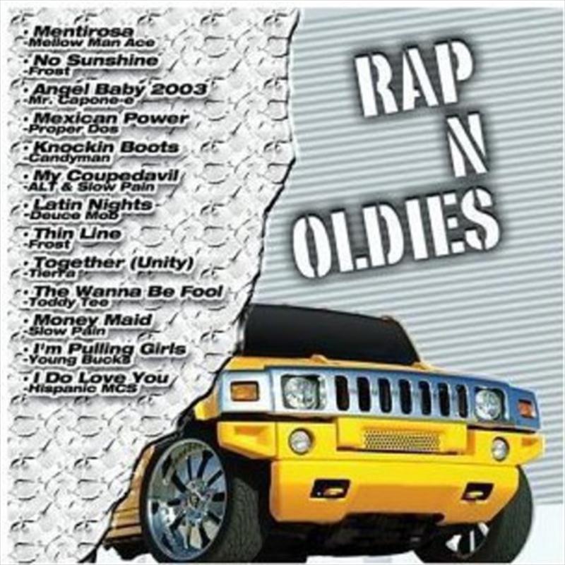 Rap N Oldies   CD
