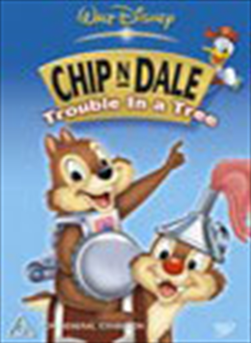Chip N Dale V2 Trouble In A Tree | DVD