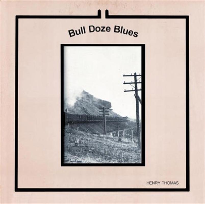 Bull Doze Blues   Vinyl