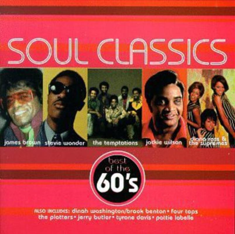 Soul Classics: The 60s   CD