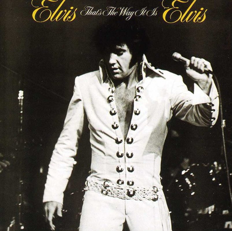 Elvis Thats The Way It Is | CD