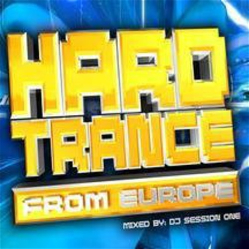 Hard Trance From Europe   CD