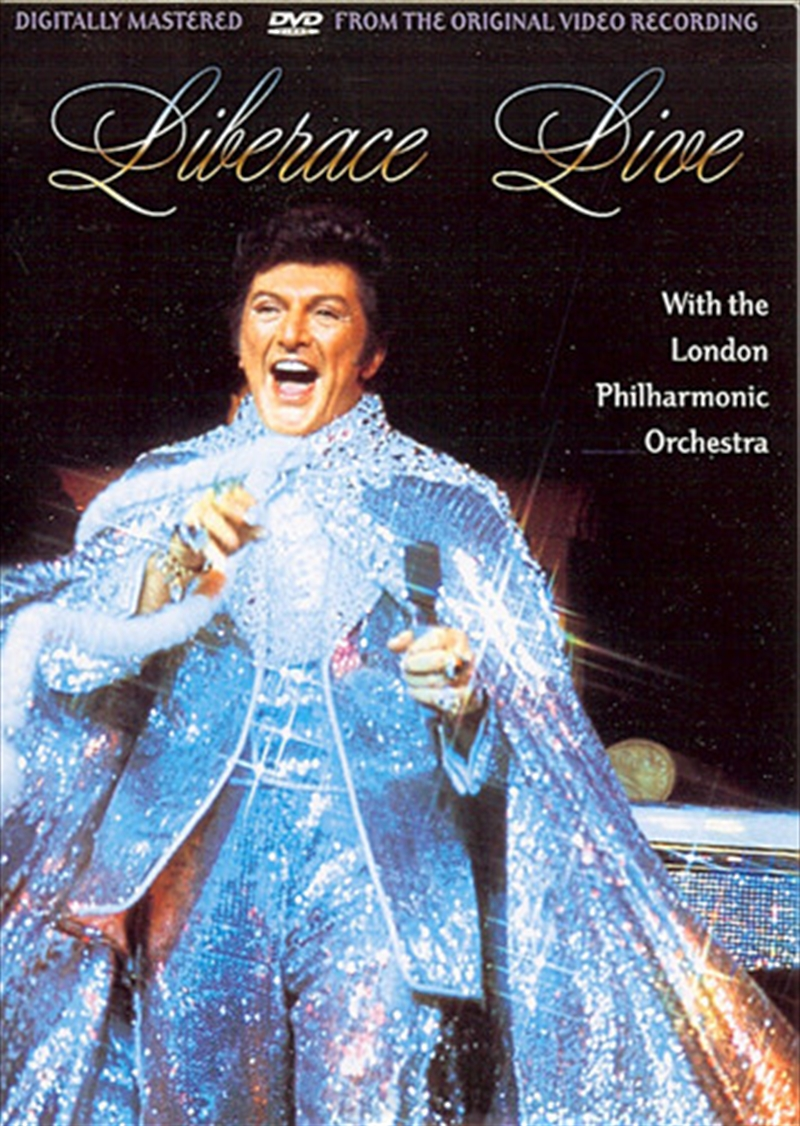 Liberace Live With The London Philharmonic Orchestra | DVD
