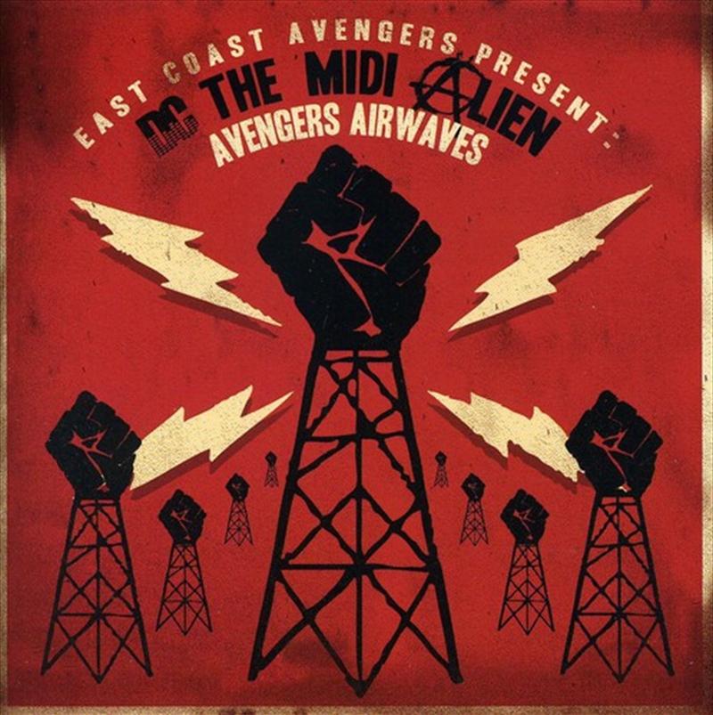 Present Dc Midi Alien: Avenger | CD