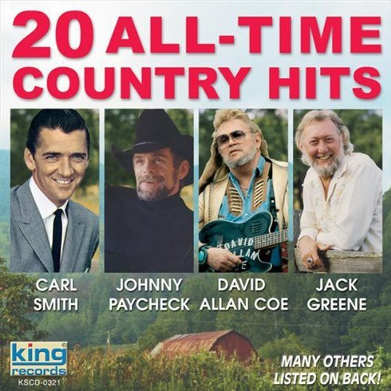 20 All Time Country Hits | CD