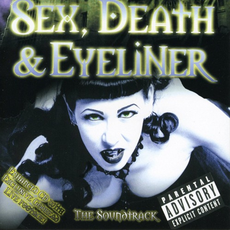 Sex Death And Eyeliner | CD