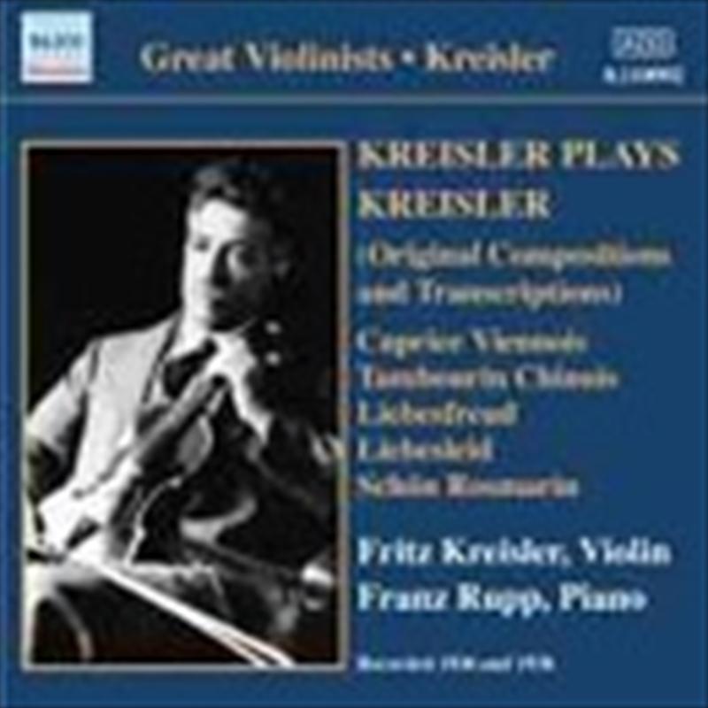Kresler Plays Kreisler | CD