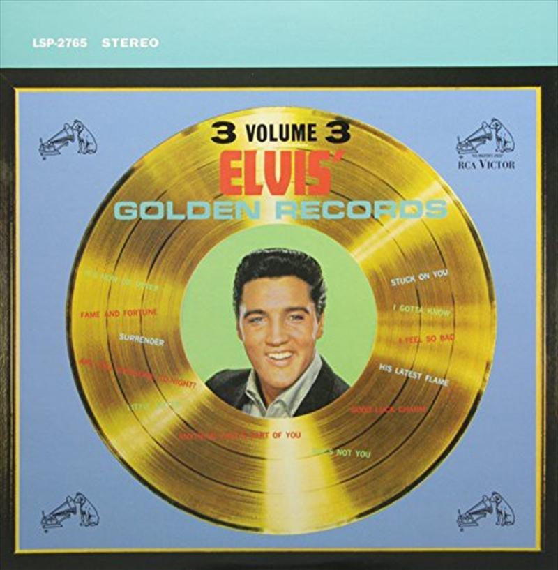 Elvis Golden Records Vol. 3 | Vinyl