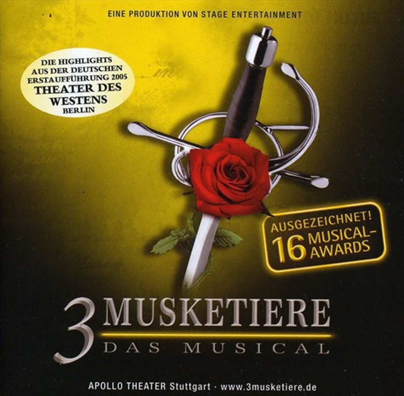 Die 3 Musketiere | CD
