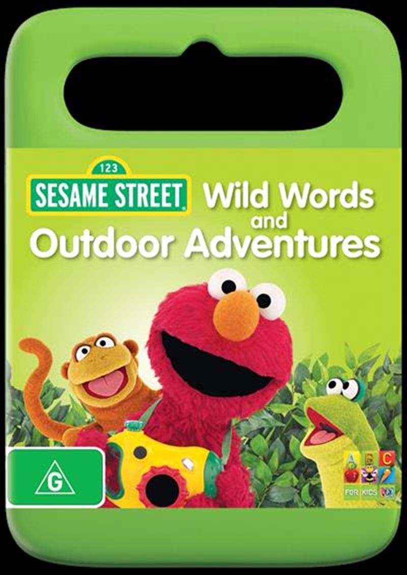 Sesame Street - Wild Words And Outdoor Adventures   DVD